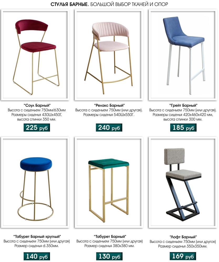барные стулья для кухни купить недорого